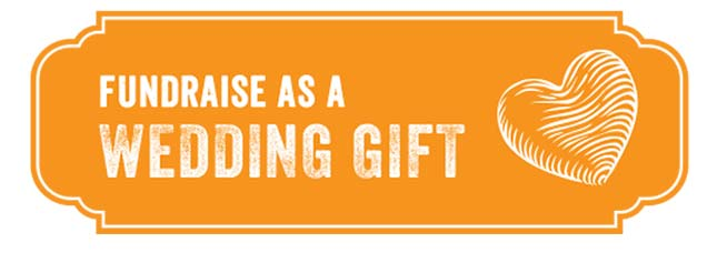 Fundraise as a wedding gift